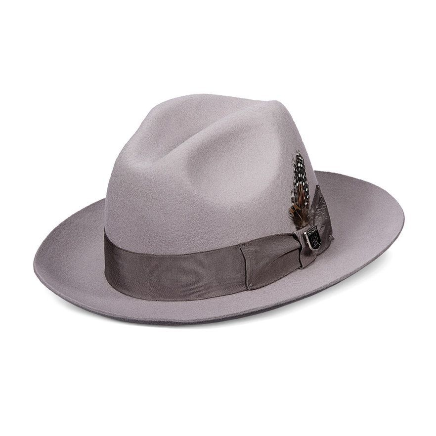 2cdad60c1db12 Stacy Adams Men s Cannery Row Wool Felt Fedora