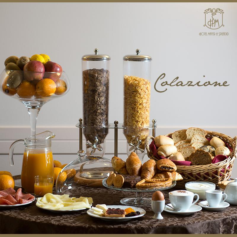 Iniziate la vostra giornata alla grande, con la nostra delicata colazione. #hotelmayersplendid
