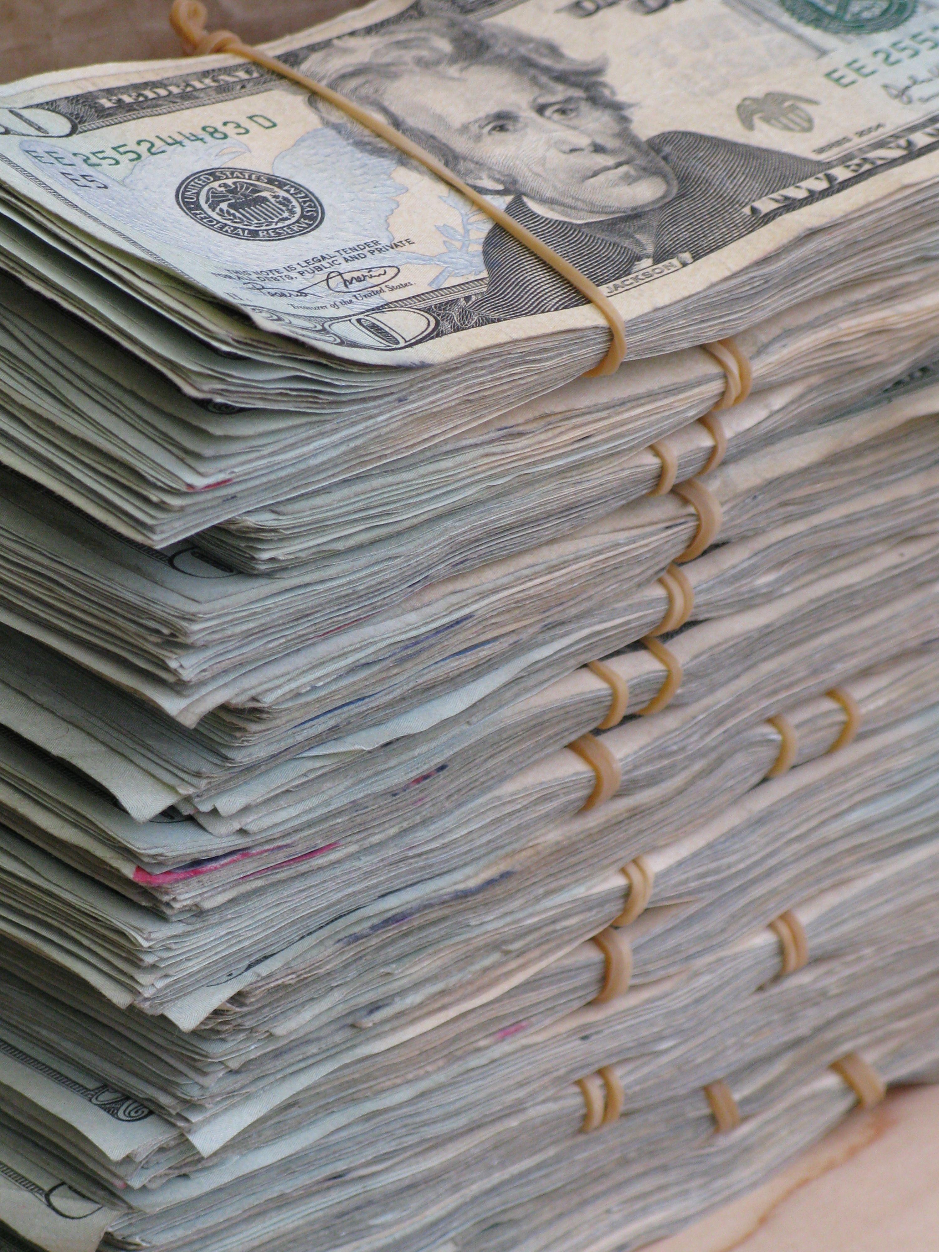 Real Money Stacks Money Stacks More Marijuanalingo