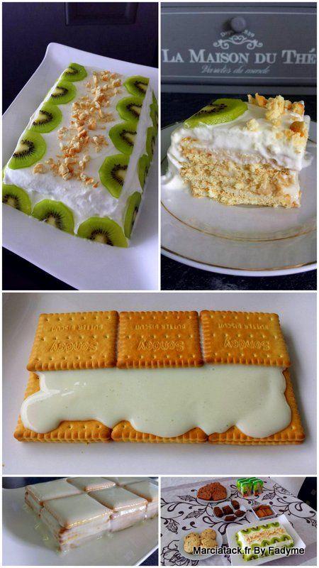 Gateau Facile Aux Kiwis Recipe Eat Me Pinterest Desserts