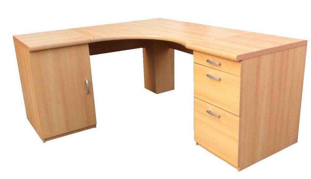 Oak Corner Computer Desk Home Office Furniture Desk Home Desk Corner Computer Desk