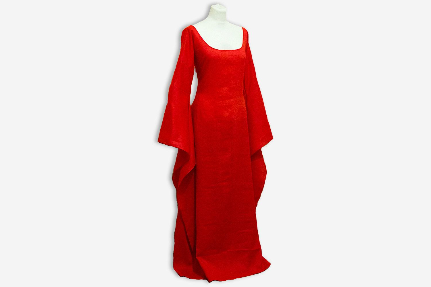 Melisandre dress Game of Thrones halloween costume Melisandre cosplay wedding dress handfasting celtic wedding red priestess dress & Game of Thrones costume Melisandre dress medieval dress Halloween ...