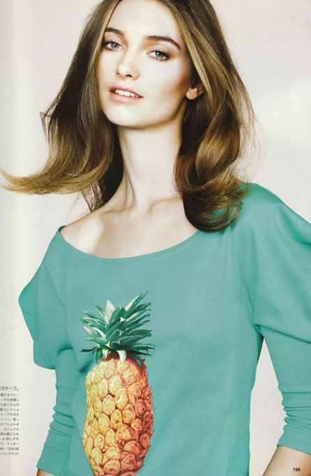 Chloe ananas top 2001/ VOGUE JAPAN May 2013
