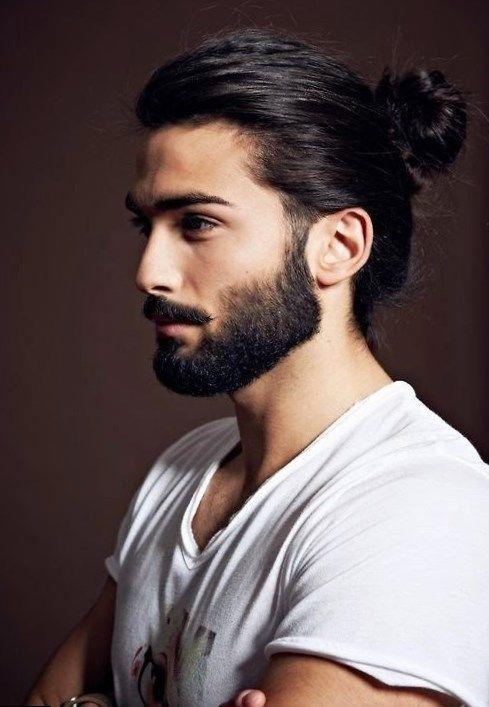 Top 10 Men S Haircuts Beard Styles For Men Long Hair Styles Men Man Bun Hairstyles