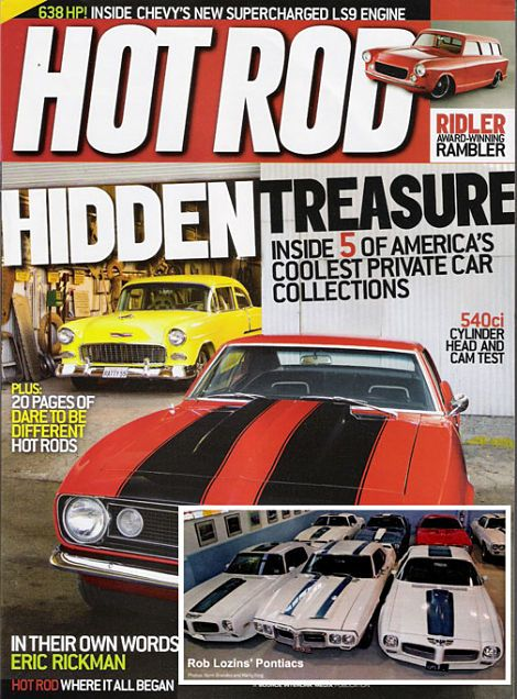 HOT ROD, the classic car magazine that will introduce old and classic cars