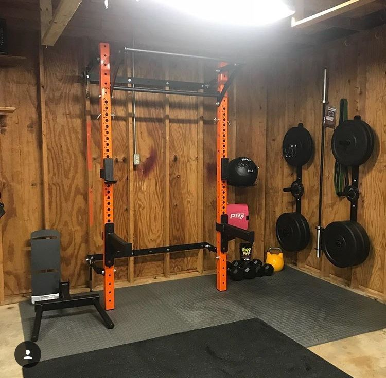 Turn your basement into your home gym with space saving equipment