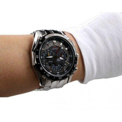 8db902367cda Red Bull Edifice Chronograph EF-550RBSP-1AV Limited Edition Men Watch  Racing Stainless Steel WristWatch -commodityocean.com