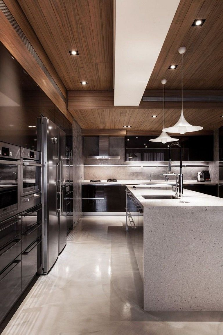 35 Amazing Modern Contemporary Kitchen Ideas Contemporary Kitchen Design Contemporary Kitchen Luxury Kitchen Design