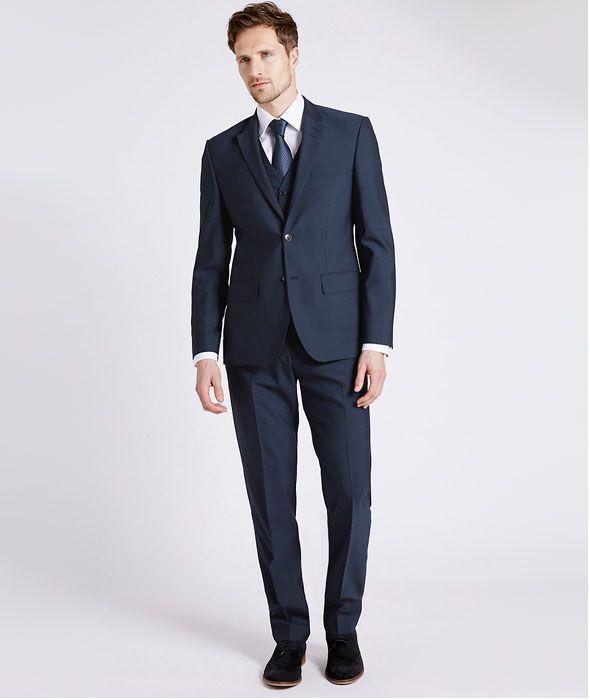 Man wearing three piece suit for weddings | Look | Pinterest ...