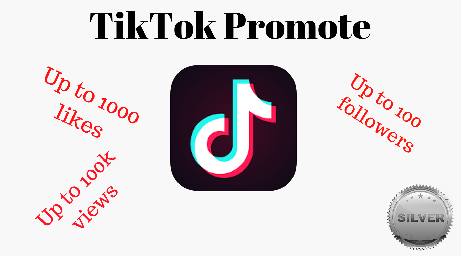 Tiktok Promote Service Silver Pack How To Get Followers Promotion Social Networks