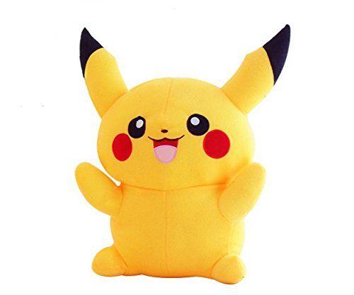 Amazon Com Atolo Pikachu Plush Toy Doll Igimon King Valentines Day Gifts 40cm Pikachu Plush Pokemon Plush Cute Plush