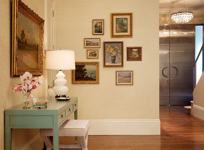 Suzie: Redmond Aldrich Design - Eclectic foyer design with butter ...