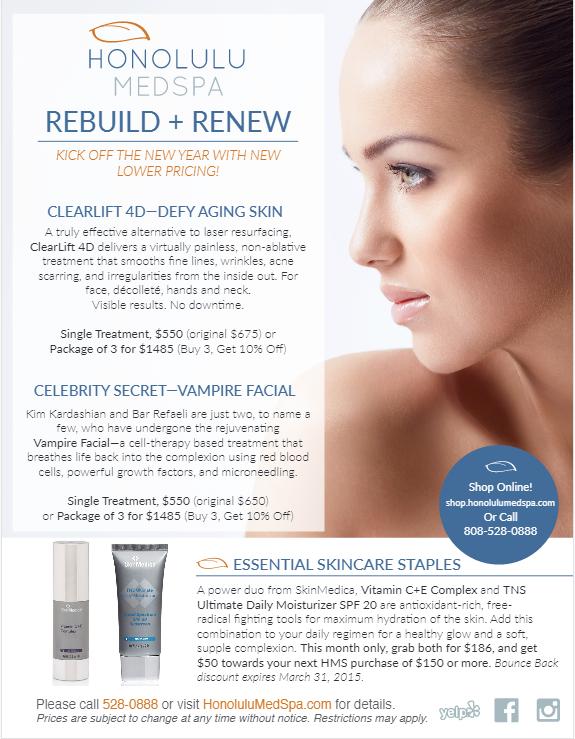 Care facial honolulu skin treatment