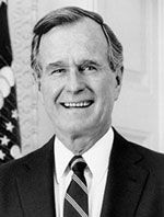 Herbert Walker Bush Funny motivational quotes