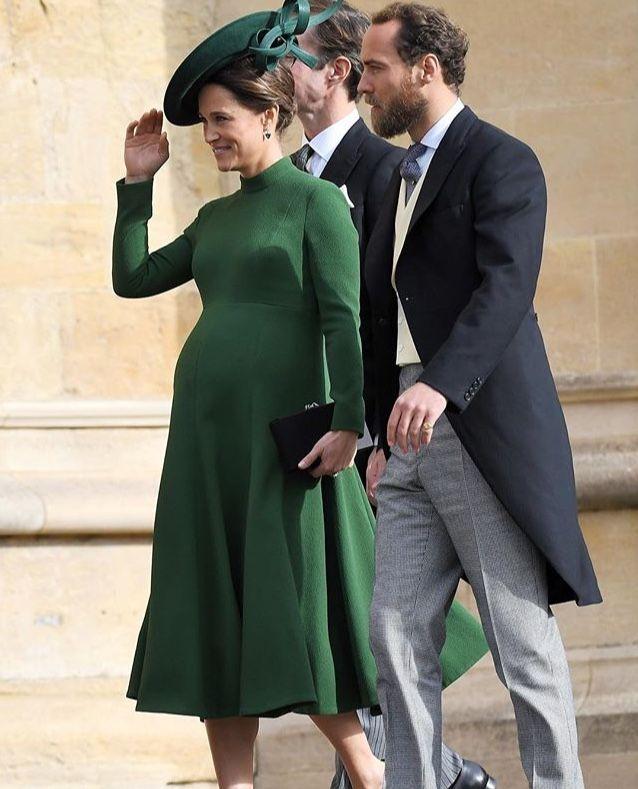 Pippa And James Middleton At Princess Eugenie's Wedding