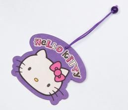 Hello Kitty Paper Air Freshener: Face