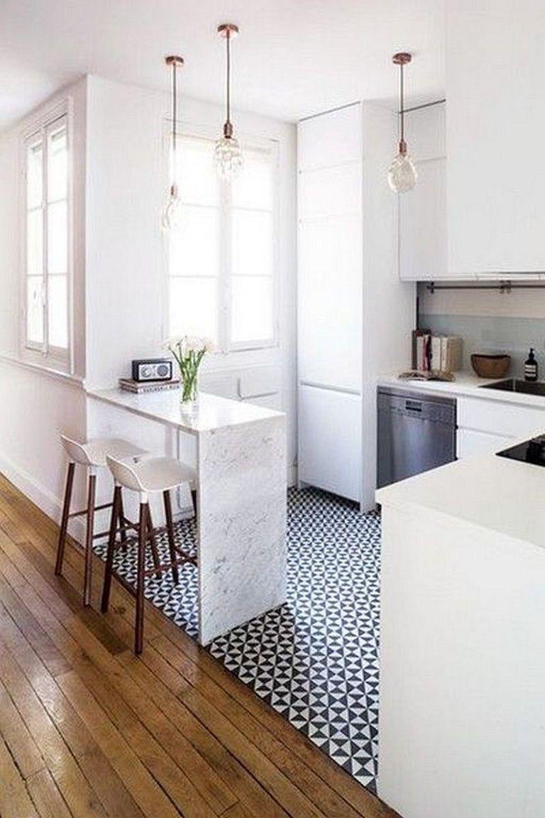 27 Comfy Tiny Kitchen Design And Decor Ideas Kitchens Kitchendecor Kitchenremodel Small Modern Kitchens Kitchen Remodel Layout Kitchen Decor Apartment