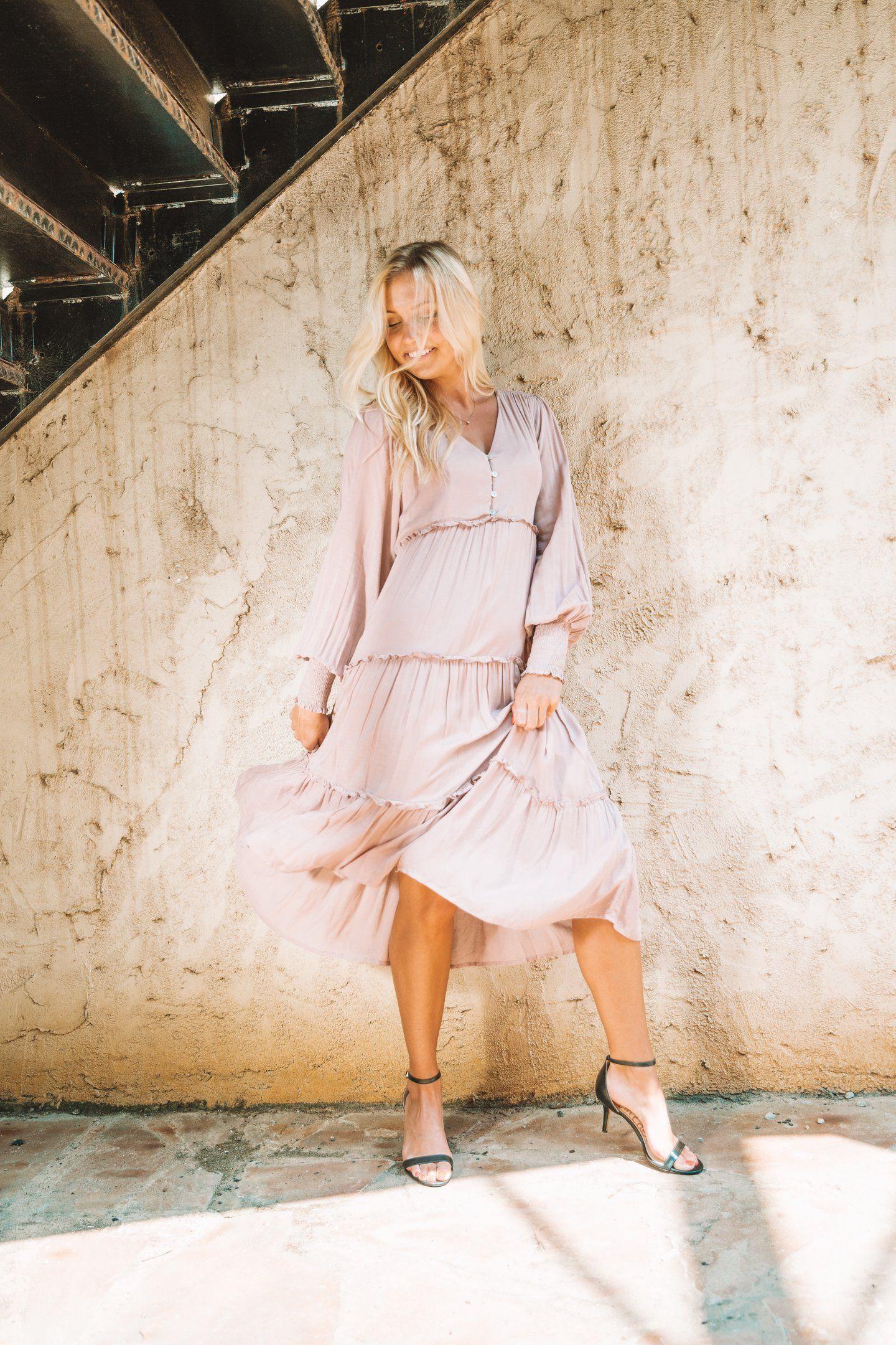 Madeline Dress Dresses Midi Dress Fashion [ 2160 x 1440 Pixel ]