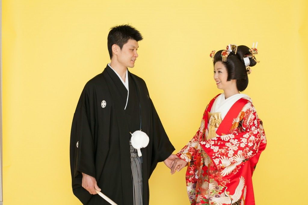 """前撮り・別撮り""""和装フォト/白無垢or色打掛"""" 結婚式には和装は着られますか?    静岡・浜松のフォトウェディング、写真館での前撮り結婚写真はズットフォトスタジオ"""