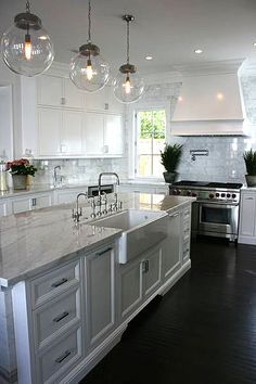 Kitchen kitchens interiors whitekitchens Bristol Brooke