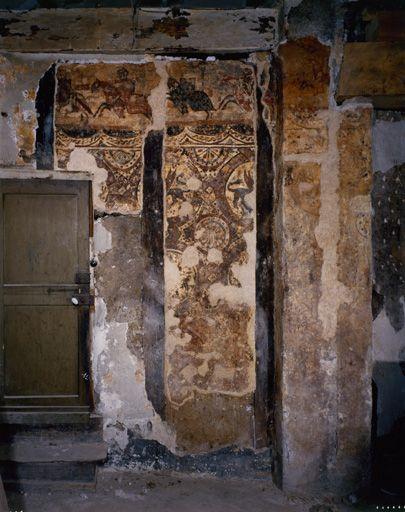 Saint-Antonin-Noble-Val (Tarn-et-Garonne), maison, dite Maison - peinture murale interieur maison