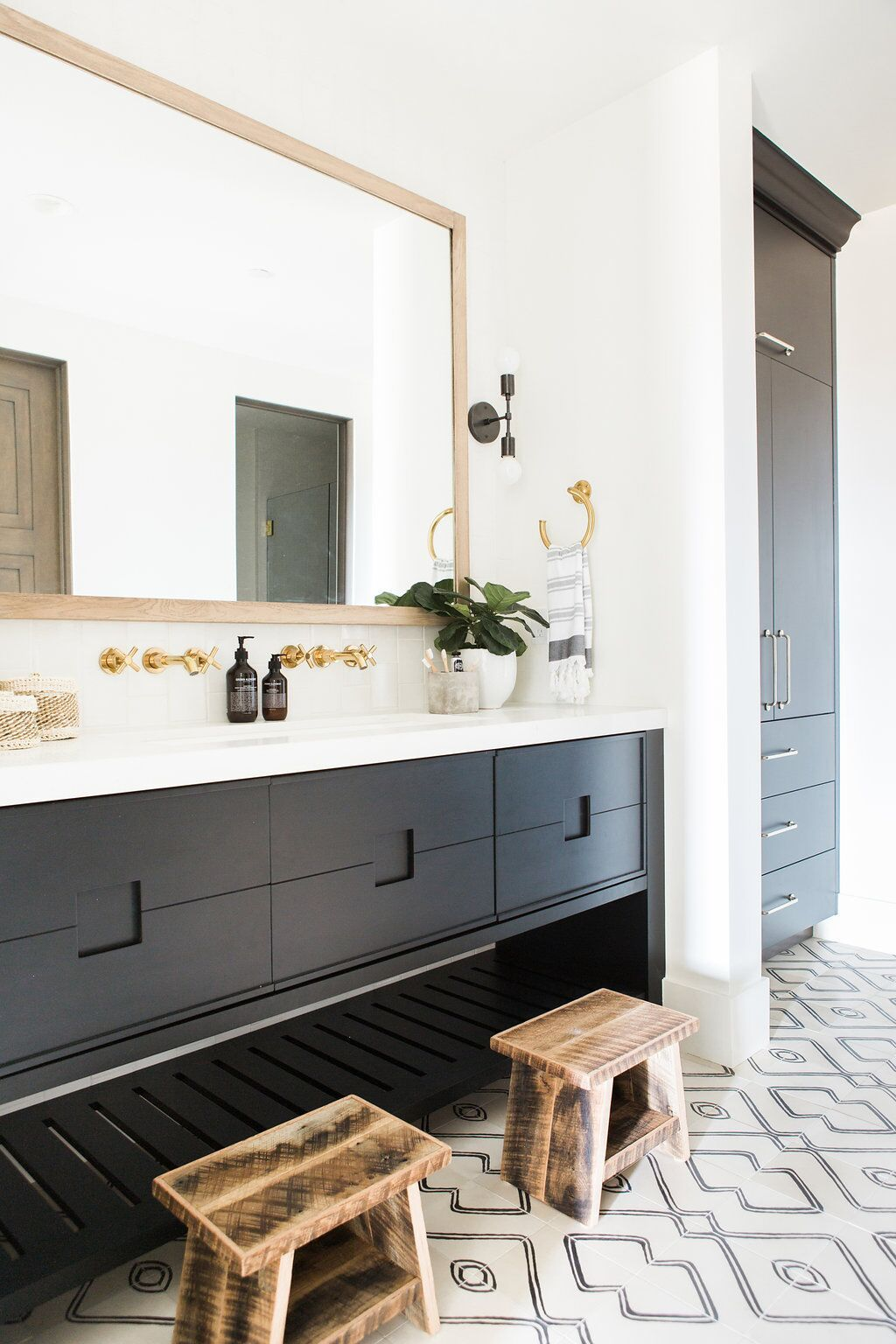Promontory Project: Downstairs, Office | Pinterest | Patterns, White ...