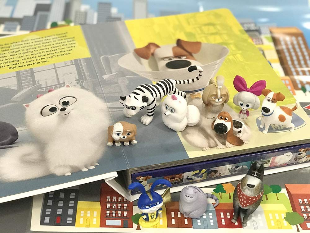 The Secret Life Of Pets 2 My Busy Books Phidal Publishing Inc