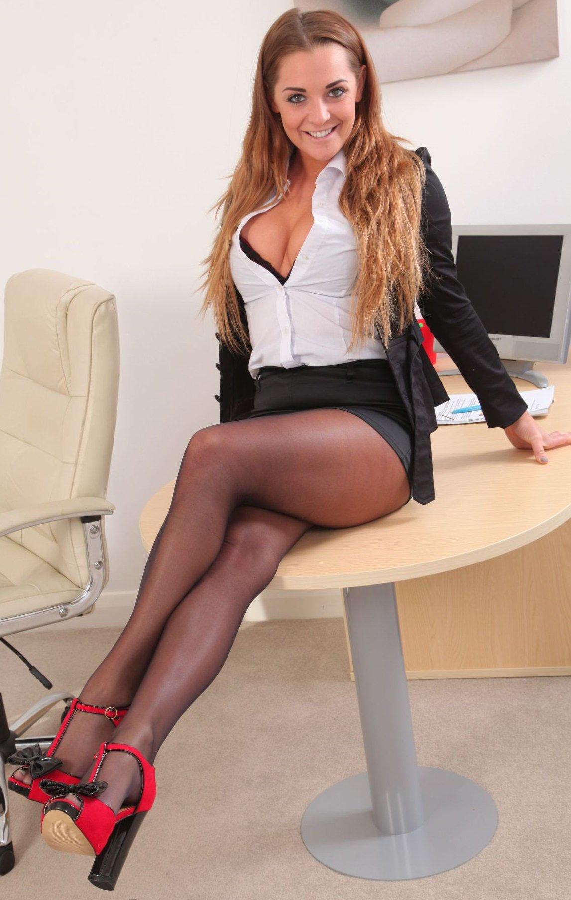 Teacher Office Stockings Legs The Offices Secretary Dating Ph Qoutes Desks