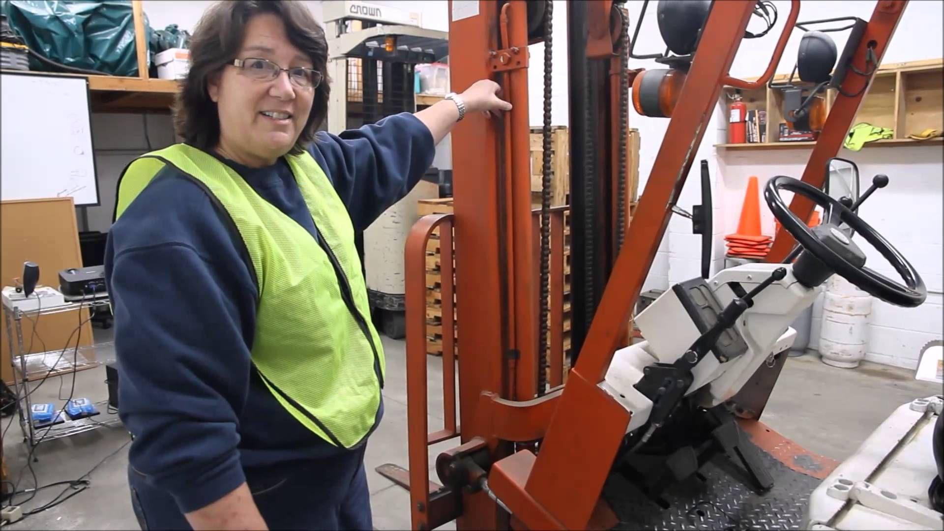 Forklift Training OSHA PreShift Inspection Forklift