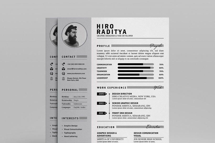 Graphic Design Resume Examples & Templates The
