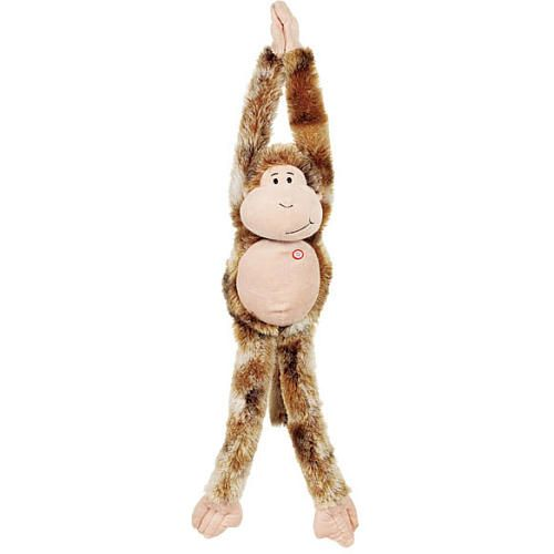 Stocking stuffer- Toys R Us Plush 39 inch Hanging Monkey with Sound - Brown