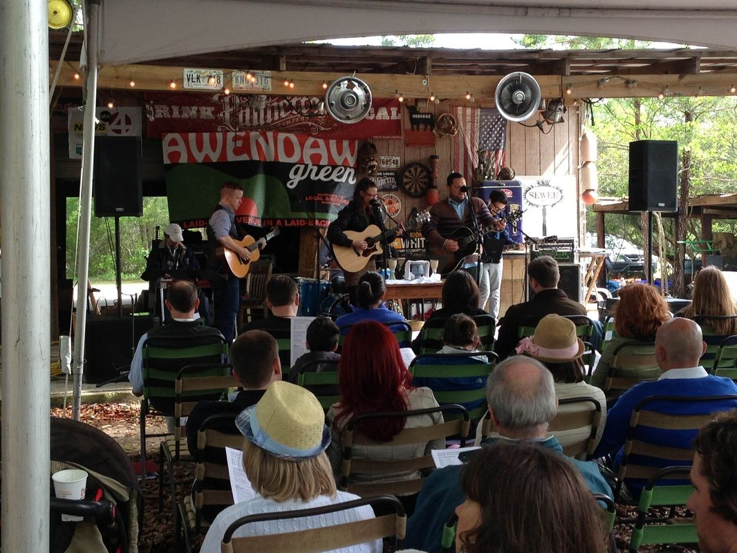 The Awendaw Green Barn Jams are an outdoor, year-round ...