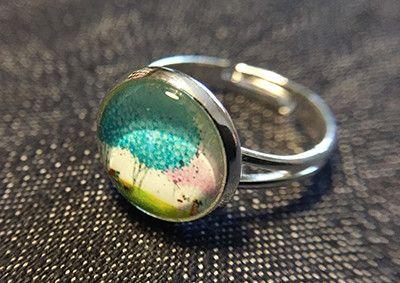 """Ringe - Cabochon-Ring """"Sommer"""" - ein Designerstück von Soulmate-Works bei DaWanda"""