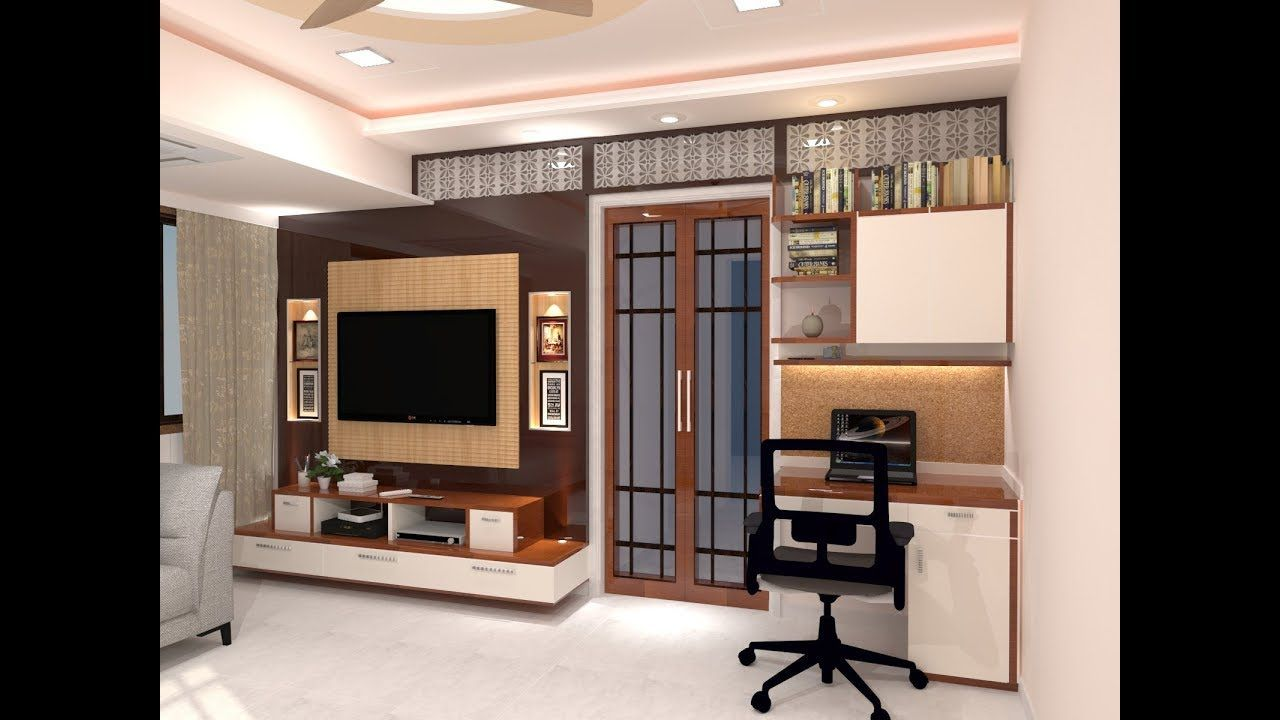 Living Room And Kitchen Design For 1 Bhk Flat Sketchup Https Www Youtube Com Watch Living Room And Kitchen Design Vintage Kitchen Decor Kitchen Design