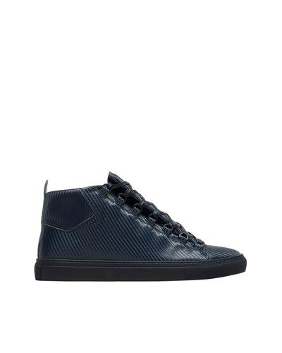 Sneaker #balenciaga #mid #sneaker #half #blue #luxury #handcrafted #italy