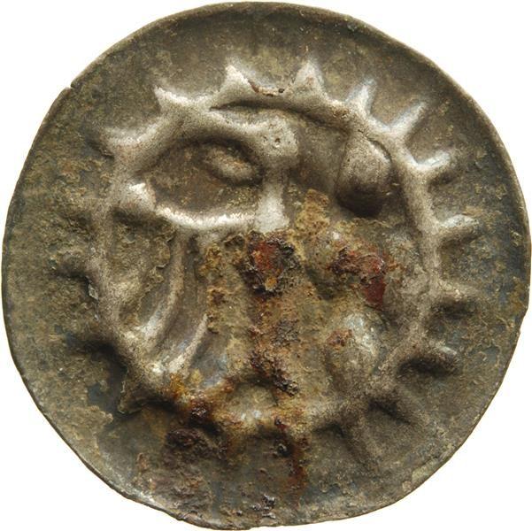 Hohlpfennig Friedrich <II., Brandenburg, Kurfürst> (1413-1471)|Münzherr Brandenburg, o.J. (1440-1470) Münzkabinett Material and Technique Silber, geprägt Measurement 16,5 mm; 0,27 g