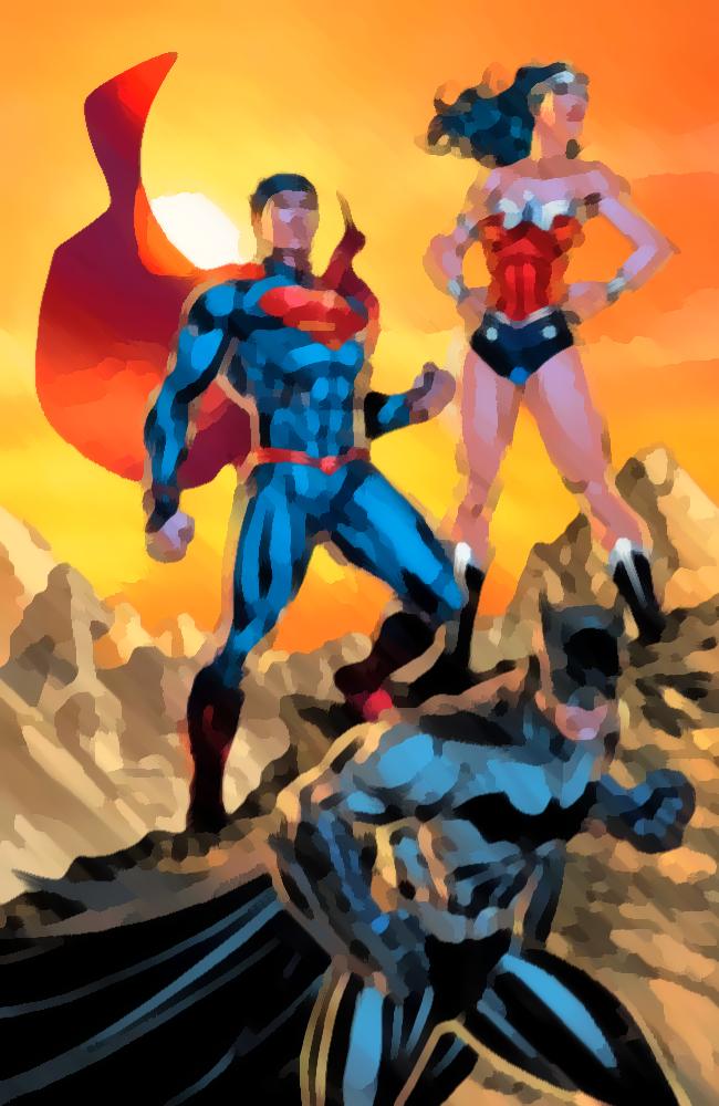 Coloriage Comics Feutre Superman Coloring Book App Relaxing Game Colorful Landscape