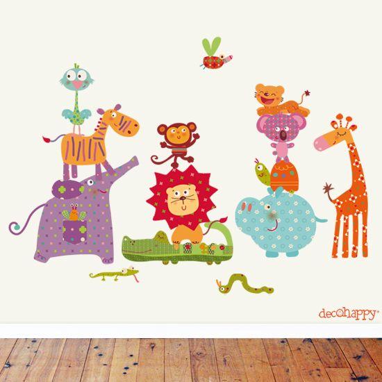 arte beb vinilo infantil decoracion infantil vinilos animales juveniles infantiles dibujos bonitos murales