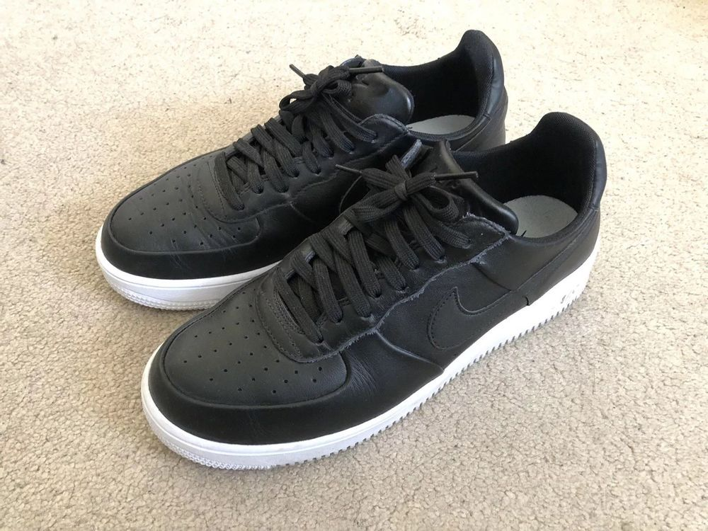 a5379172f8d78 Nike Air Force 1 Ultraforce AF1 Black Mens Size 10.5 Leather ...