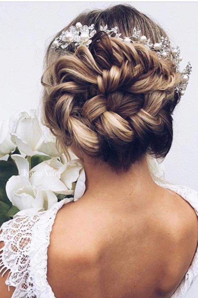 wedding bridesmaid hairstyles / hochzeit brautjungfer