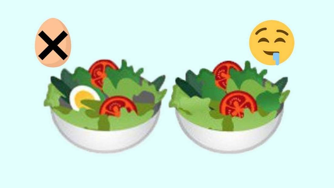 Google Salad Emoji Ditches Egg And Goes Vegan Because Plants Have All The Protein You Need Goddamnit Going Vegan Vegan News Vegan