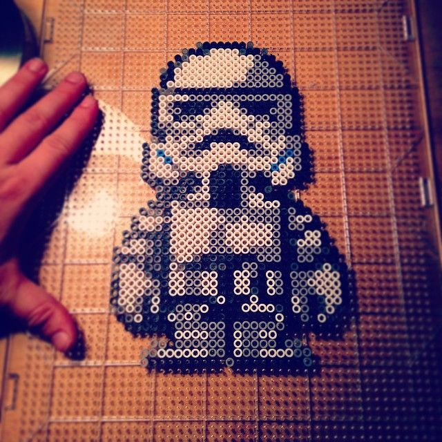 Star Wars perler beads by keleigh_coo