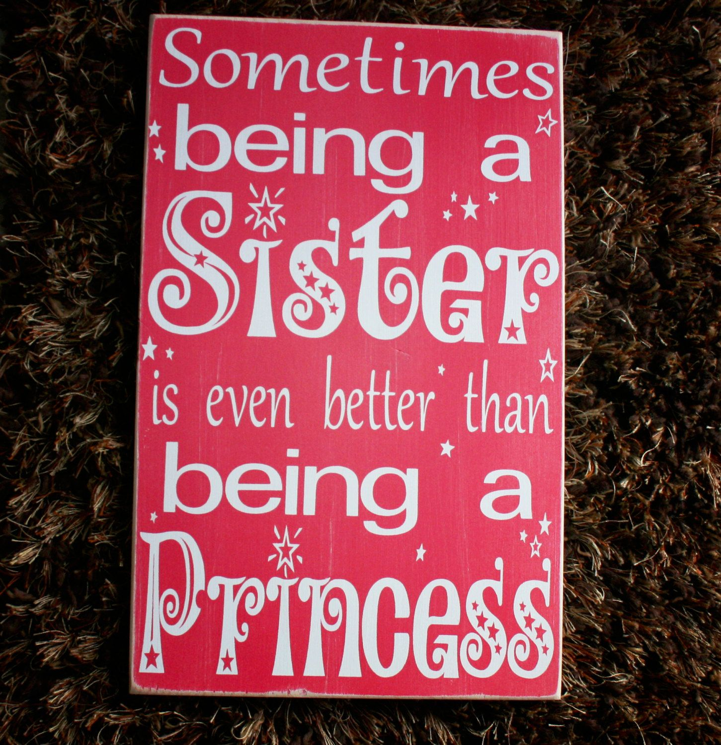Sometimes being a big sister is better than being by CASignDesign, $40.00