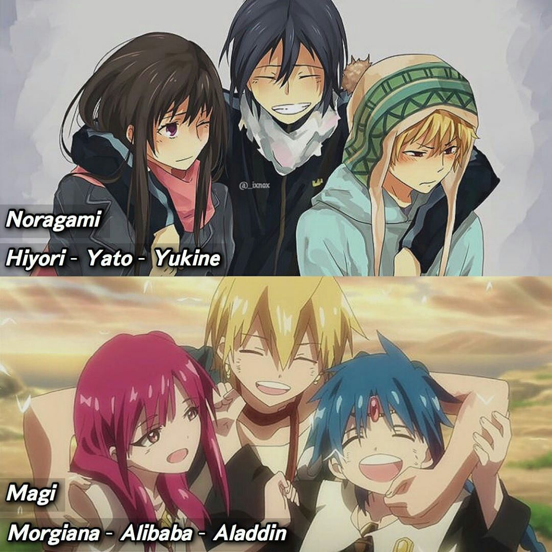 Pin By On معلومات انمي Noragami Hiyori And Yato Noragami Hiyori Noragami