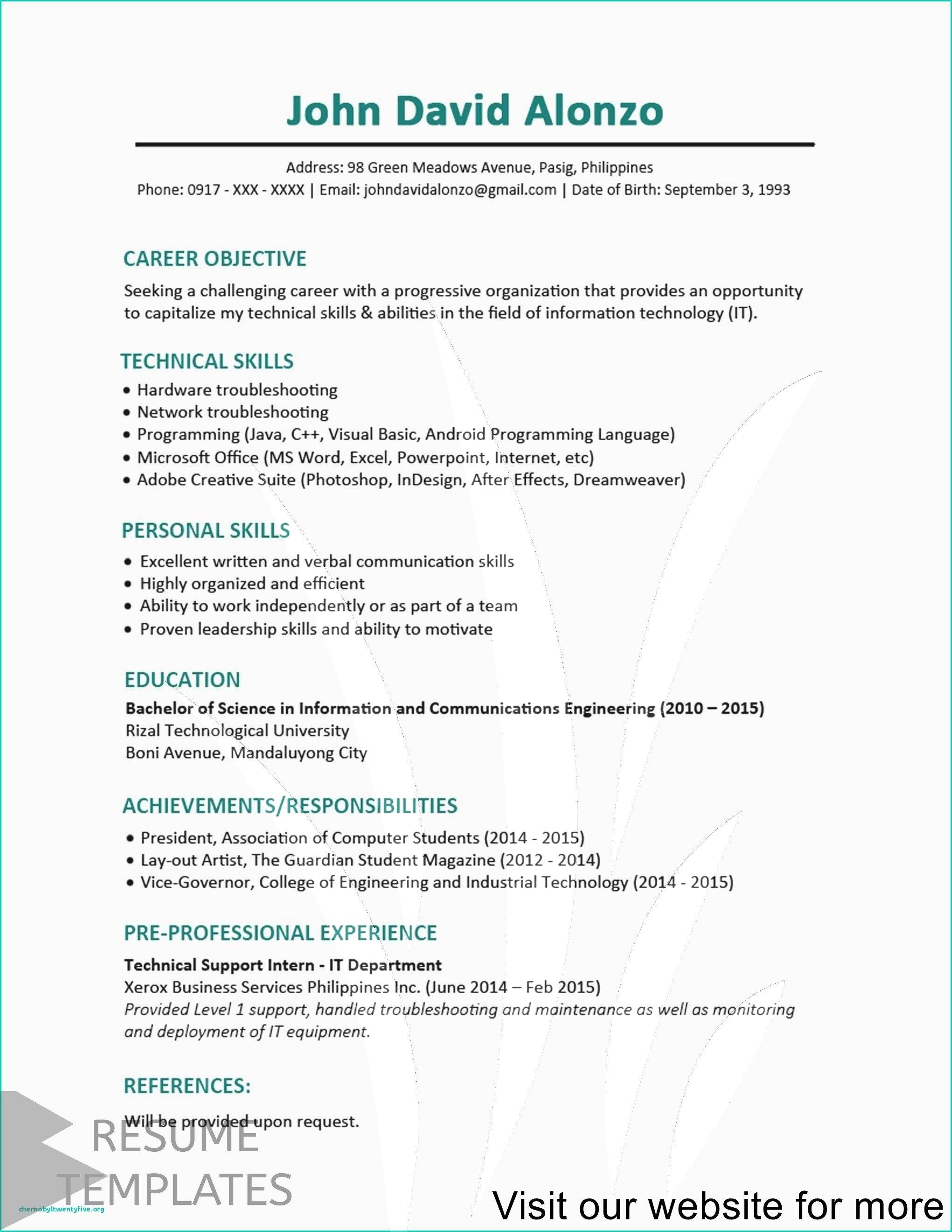 Resume Template Pdf Best Resume Template Professional Resume Template Resume Writing Tips