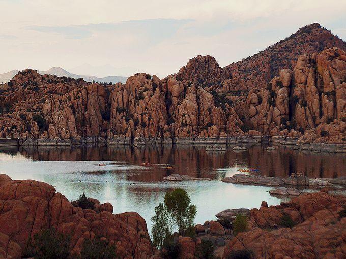 Watson lake near prescott places arizona pinterest for Fishing spots in arizona