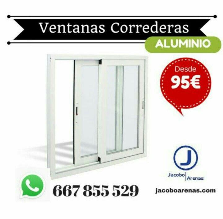 Por 95 tus ventanas correderas de aluminio con cristal de climalit benef ciate de los mejores - Cristal climalit precio ...