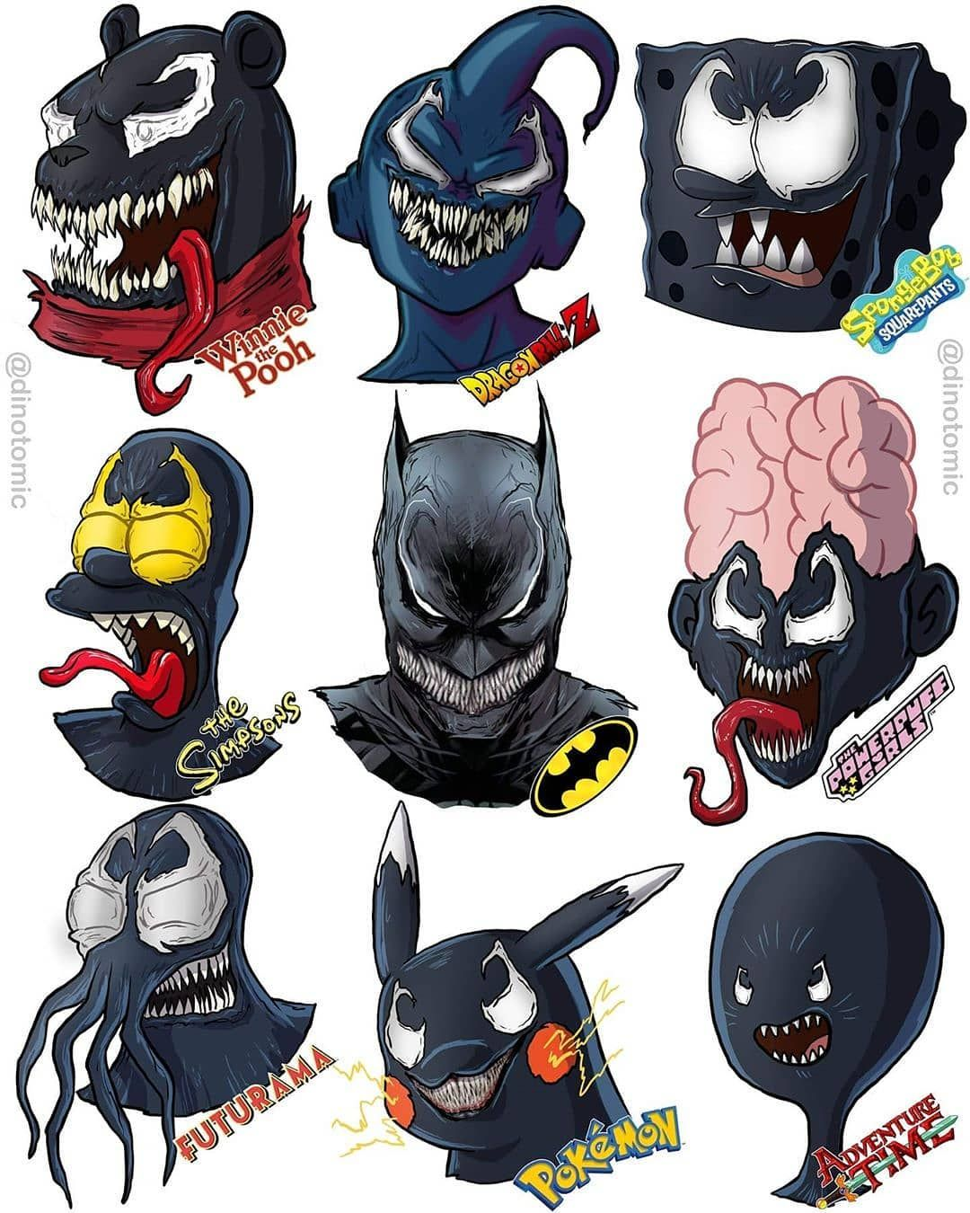 "_superheroacademy ""Which character as Venom is your"