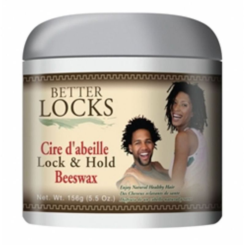 Better Locks Lock and Hold Beeswax - 5.5oz jar