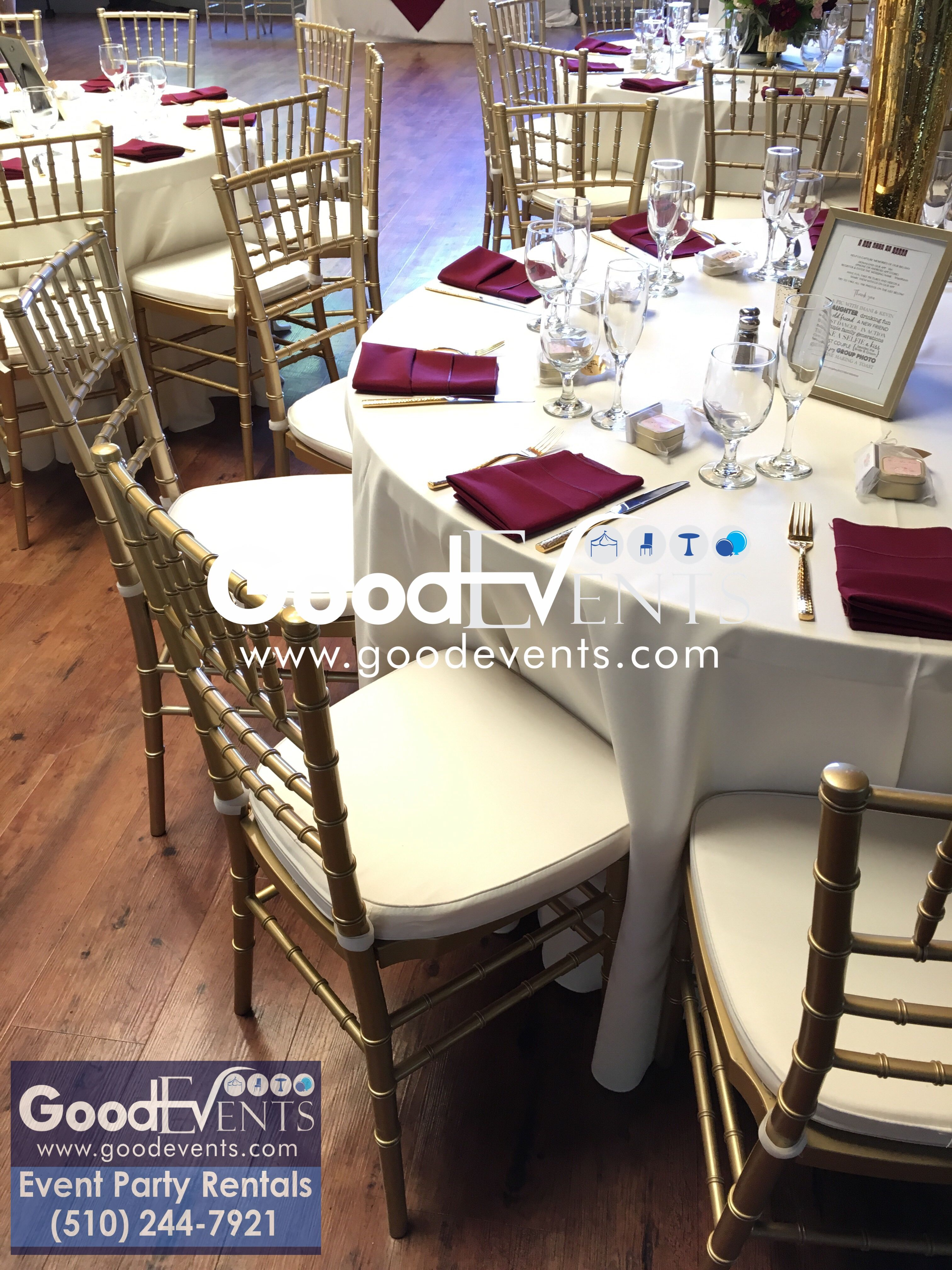Rent tables and chairs by GOOD EVENTS on Gallery GOOD